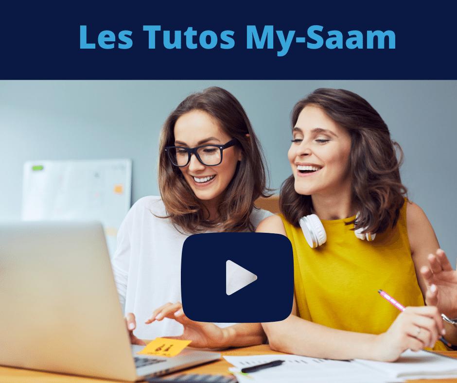 vidéos tutoriel my-saam chaine youtube